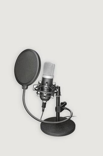 Trust Mikrofon Gxt 252 Emita Studiomicrophone  Male