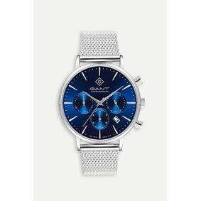 Gant Klokke Park Avenue Chrono Silver/blue Blå  Male Blå