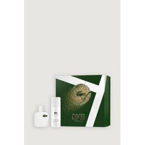 Lacoste L.12.12 Blanc Gift Set Edt 50ml + Deospray 150ml 200 Ml  Male
