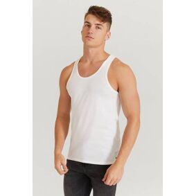 Calvin Klein Singlet 2-Pack Id Tank Hvit  Male Hvit