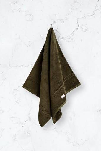 Gant Håndkle Organic Premium 70x140 Cm Grønn  Male Grønn