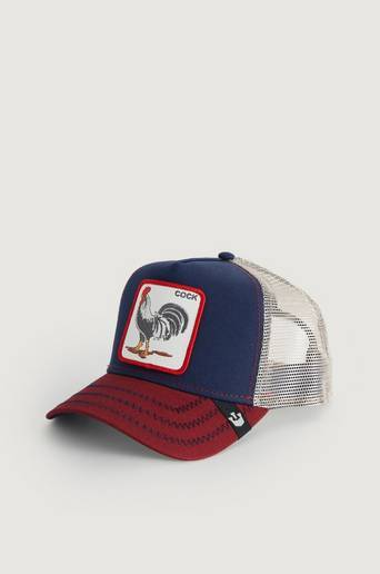 Goorin Bros Caps All American Rooster Blå  Male Blå