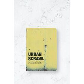 Dokument Press Bok Urban Scrawl Pocket Notes Gul  Male Gul