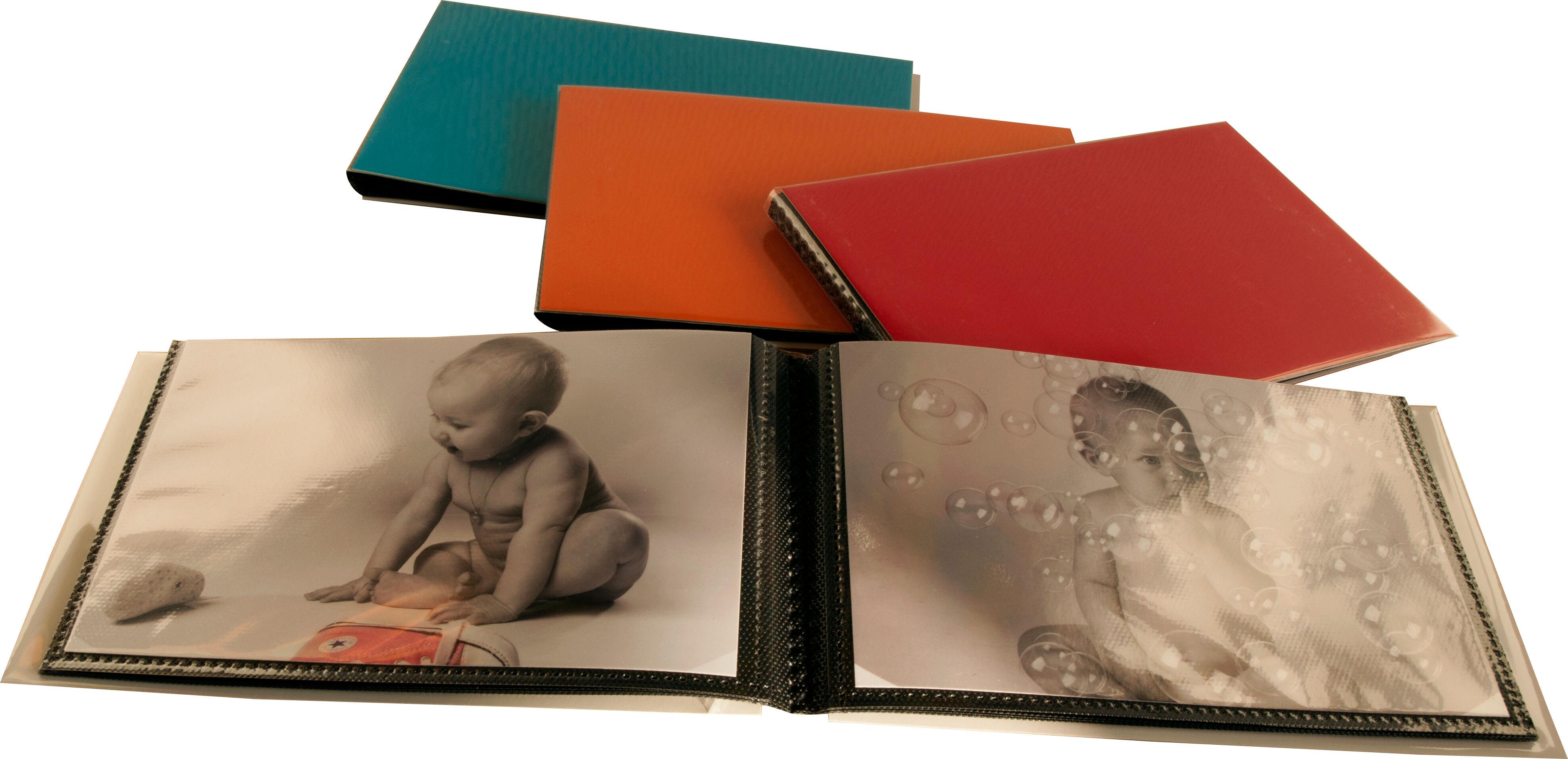 Focus Album Polaroid Mini Album 5x7,6cm Blå, Grønn, Rød eller Orange
