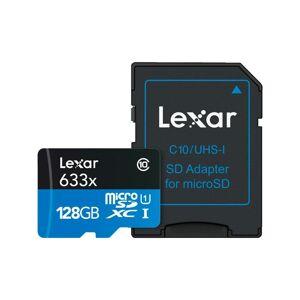 Lexar 128gb 633x Micro Sdxc Uhs-I 128 Gb 633x Micro Sdxc Uhs-1