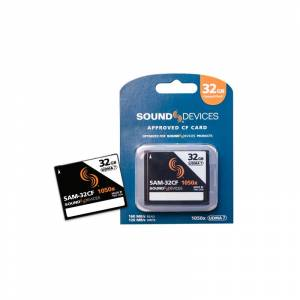 Sound Devices Sam-32cf 32gb Approved Compact Flash Card For Use