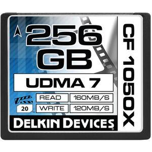 Delkin CF Prime 1050X (UDMA7) R160/W120 Kapasitet: 256GB