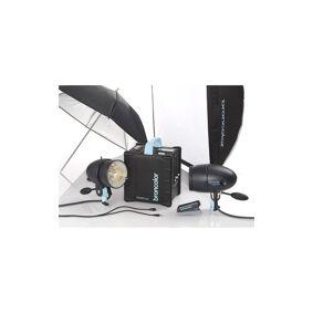 Broncolor Move 1200 L  Outdoor Kit 2 Med 2 Stk Mobiled Hode I Flott Ryggsekk