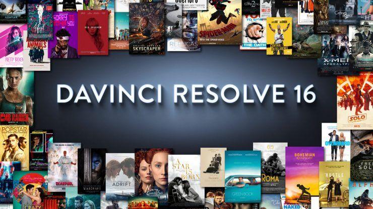 Blackmagic DaVinci Resolve Studio 16 Digital lisens til DaVinci Resolve