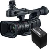 Canon XF705 + ekstra BP-A60 4K Videokamera pakke