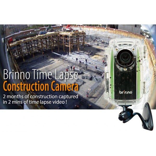 Brinno BCC100 Construction Camera Komplett pakke med batteri og minnekort
