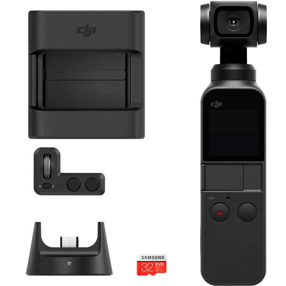 DJI Osmo Pocket Kit + DJI Osmo Pocket Expansion Kit