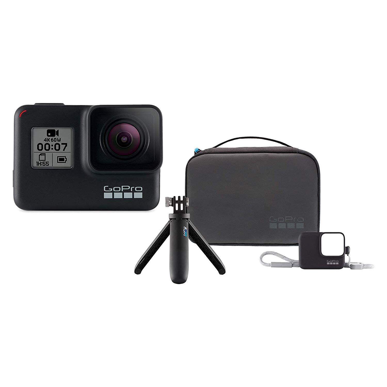 GoPro HERO7 Black KIT + GoPro Travel Kit