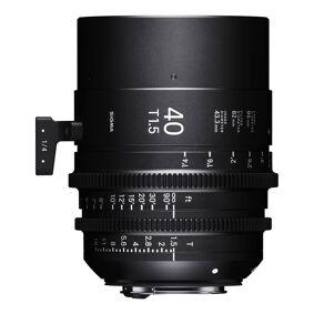 Sigma Cine 40mm T1.5 Ff Ef Canon Ef Fatning