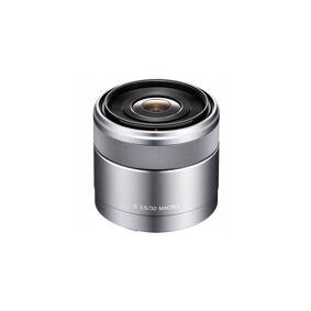 Sony E 30mm F/3.5 Macro Sølv E-Fatning (Nex)