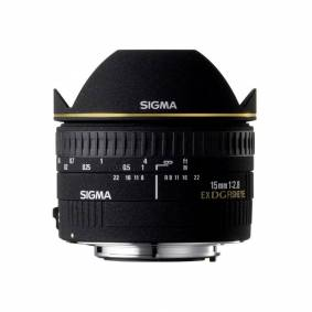 Sigma 15mm F/2.8 Dg Fisheye Diagonal Ex Canon