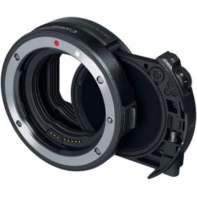 Canon Drop-In Filter Mount Adapter Ef-R Med Drop-In Circular Polarizing Filter A