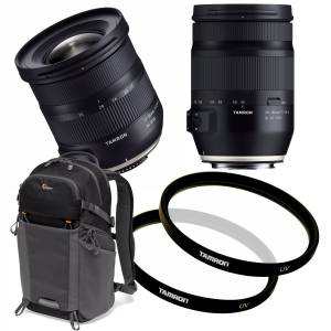 Tamron 17-150mm KIT Canon Tamron 17-35mm & 35-150mm+Sekk & filter