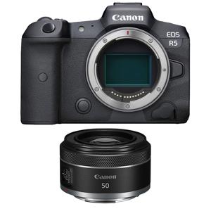 Canon Eos R5 Hus + Rf 50mm F/1.8 Stm Canon Rf 50mm F/1.8 Stm