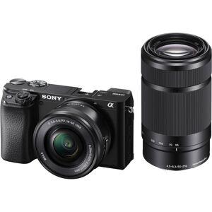 Sony A6100 + E 16-50mm F/3.5-5.6 Pz Oss + E 55-210mm F/4.5-6.3 Oss