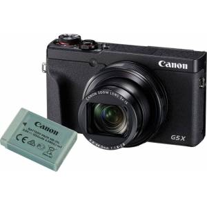 Canon Powershot G5 X Mark II batterikit Sort