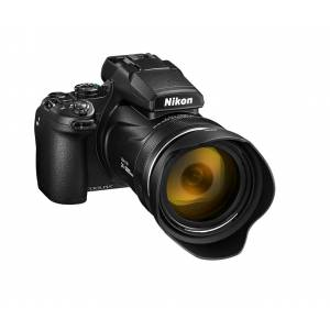 Nikon COOLPIX P1000 Sort Verdens kraftigste zoomkamera 125xzoom