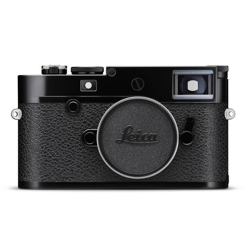 Leica M10-R Black Paint Finish Schwarz Lackiert. Sort Blank. Kamerahus