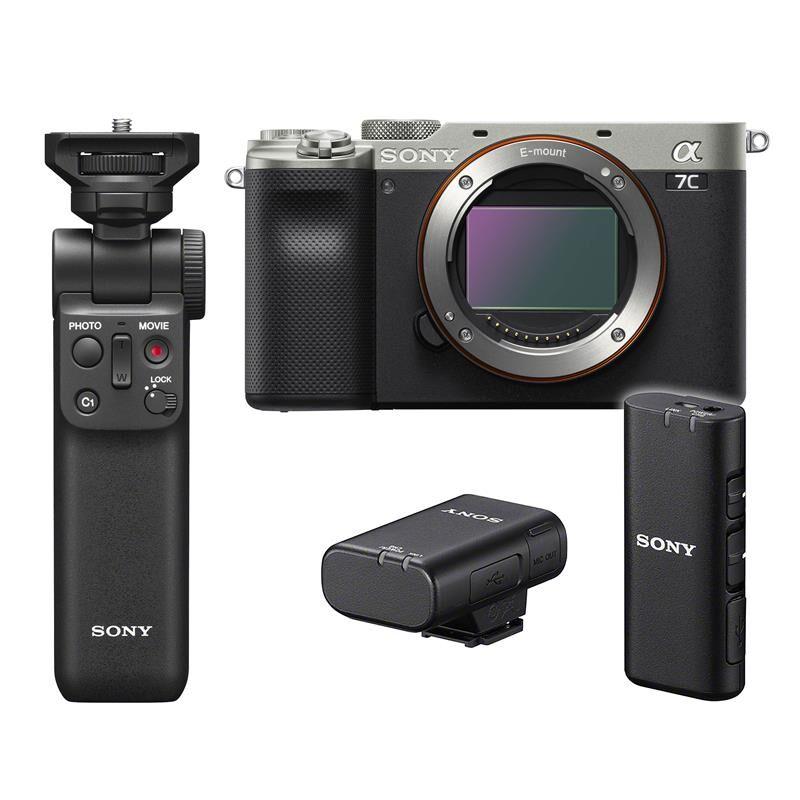 Sony A7c Kamerahus + Wireless Kit Wireless Grip & Mic
