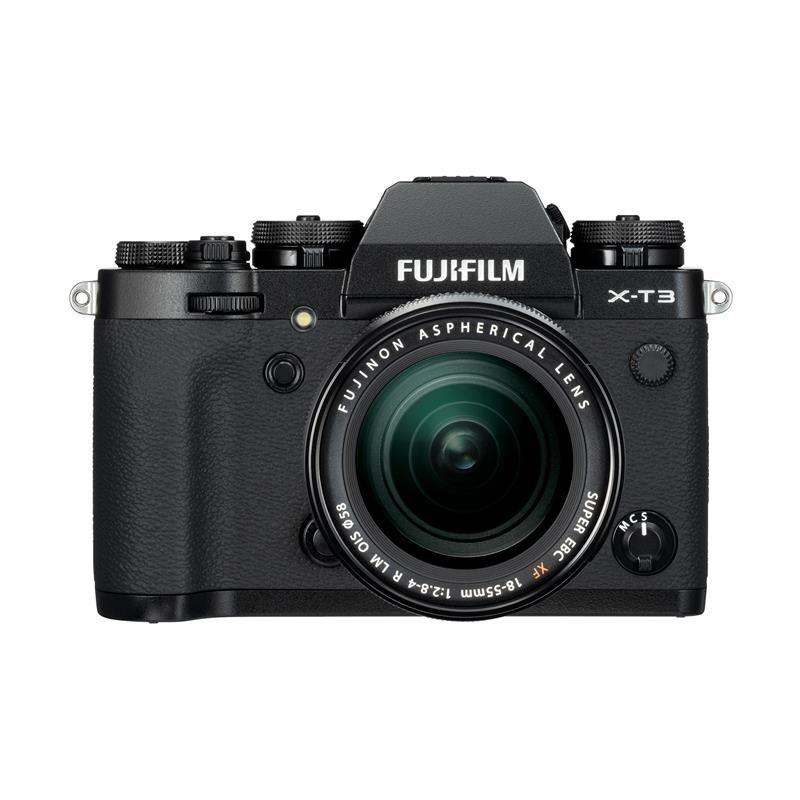 Fujifilm X-T3 Kit Xf18-55mm F/2.8-4 R Sort