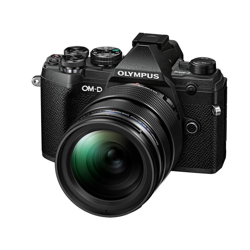 Olympus Om-D E-M5 Mark Iii Kit 12-40mm Kit Om-D E-M5 Mkiii M/12-40mm Sort