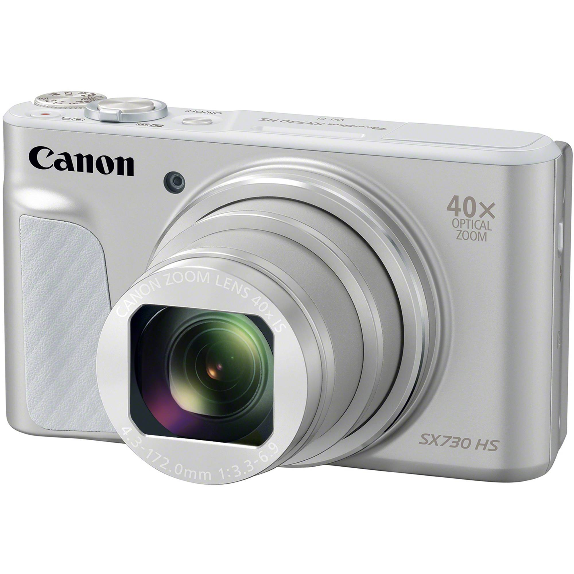 Canon PowerShot SX730 HS sølv