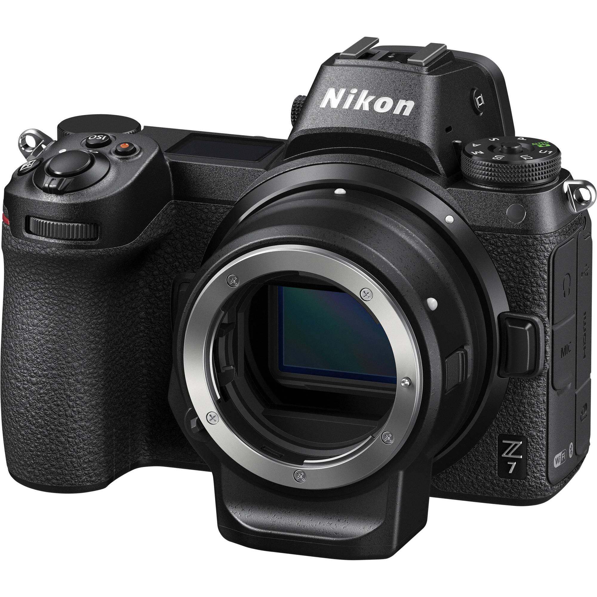 Nikon Z7 + Nikon FTZ adapter