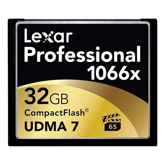 Lexar 32Gb 1066X CF 160MB/s lese, 95MB/s skrive