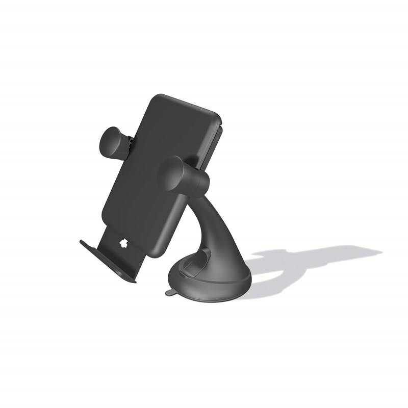 ZENS 5W Trådløs billader - sugekopp  QI, Monteres i Vindu/Instrumentpanel