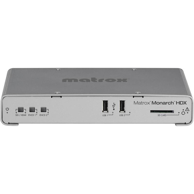 Matrox Monarch Hdx Streaming And Record Hdmi Og Sdi