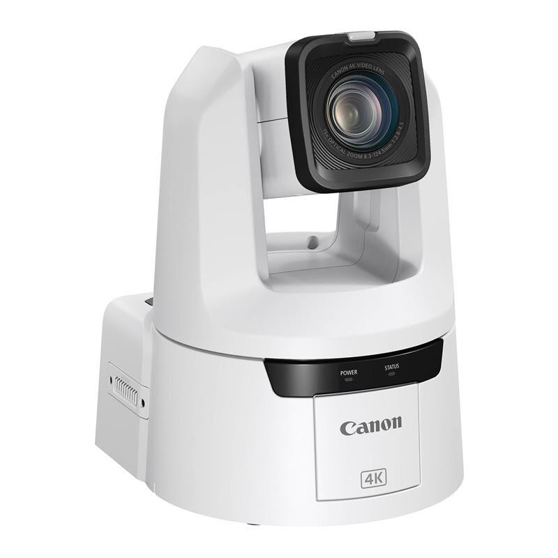 Canon Cr-N500 4k Ndi Ptz Kamera 15x Optisk Zoom. Hvit.