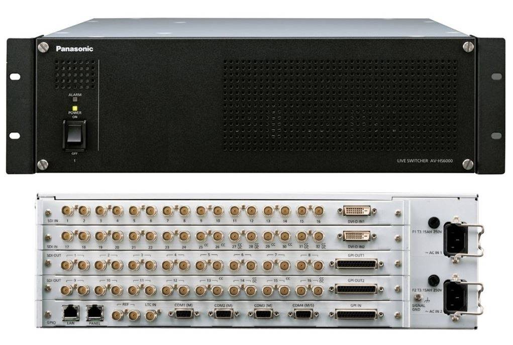 Panasonic 2 M/E Switcher Main Frame - Du