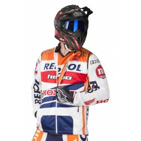 Hebo Vest Hebo Montesa Team Oransje