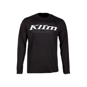 KLIM Skjorte Klim K Corp Langermet Svart-Hvit