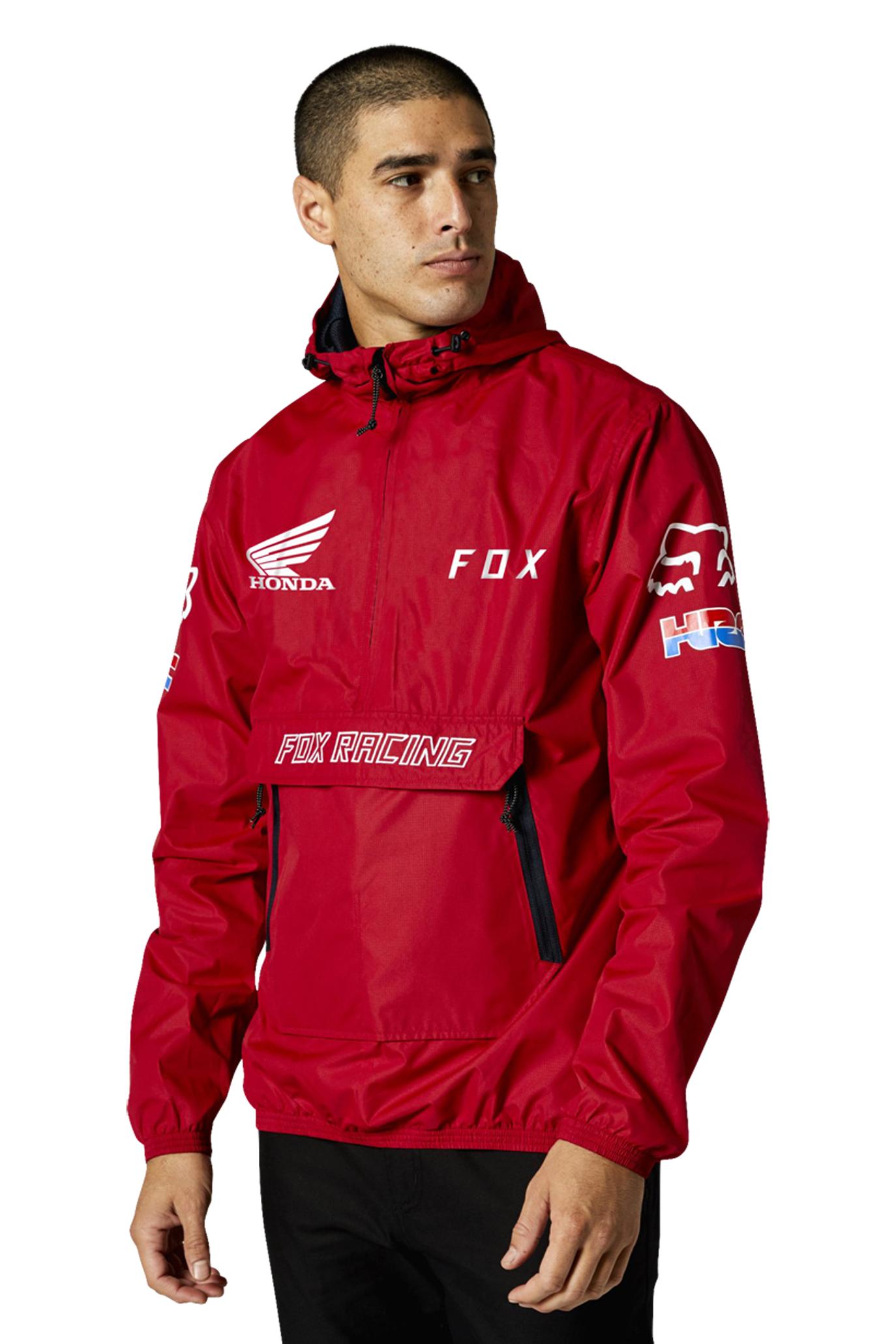 FOX Jakke FOX Racing Honda Savage Anorak Chili