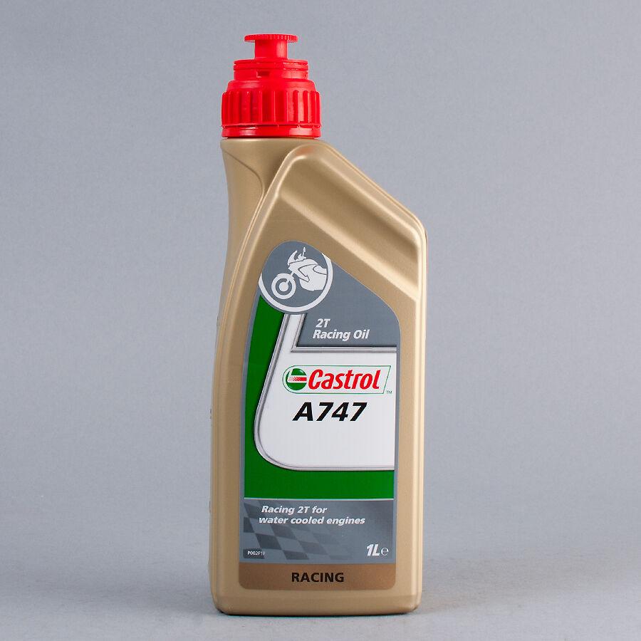 Castrol A747 vegetabilsk Delsynt. 2T racing olje 1L