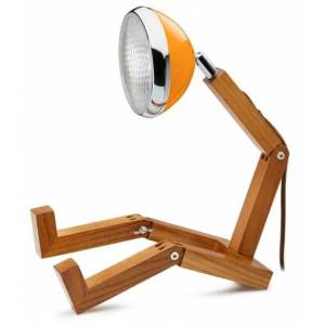 Andet Mini Wattson Bordlampe-Oransje