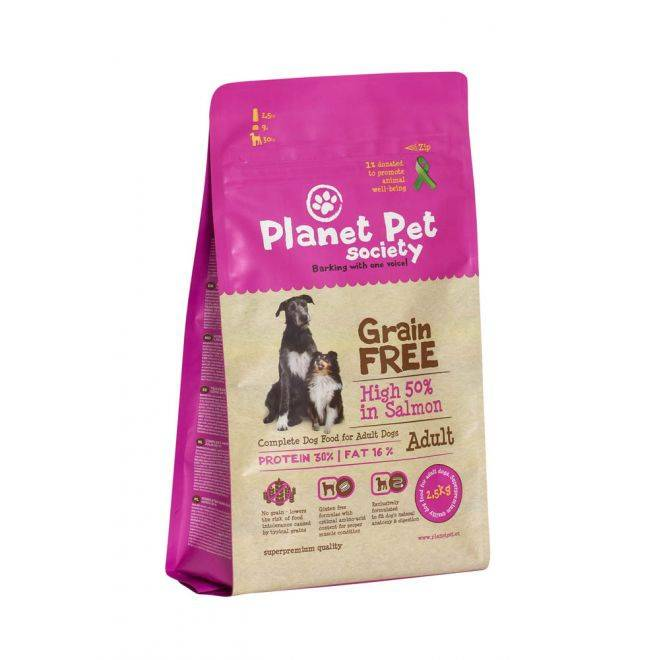Planet Pet Society Grain Free Salmon (12 kg)