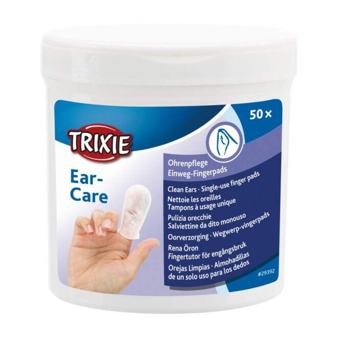 Trixie Fingerpads for öron med Aloe Vera 50-pakke