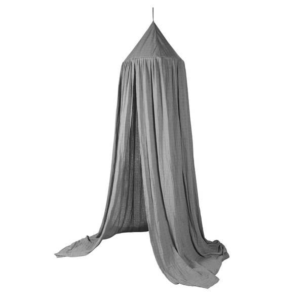 Sebra Sengehimmel Til Barnerom, Elephant Grey