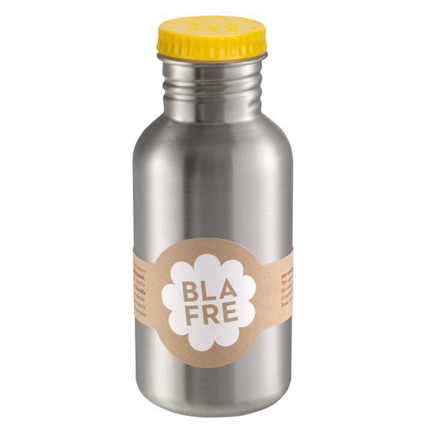 Blafre Stålflaske Til Barn 500 Ml. Mørk Gul