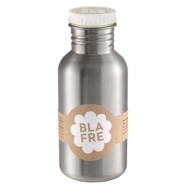 Blafre Stålflaske Til Barn 500 Ml. Hvit