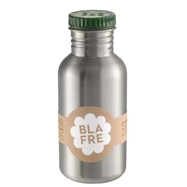 Blafre Stålflaske Til Barn 500 Ml. Mørk Grønn