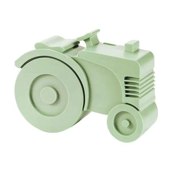 Blafre Traktormatboks I Plast Med To Rom, Mintgrønn