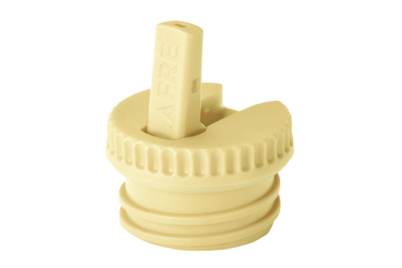 Blafre vippetut til stålflaske, gul